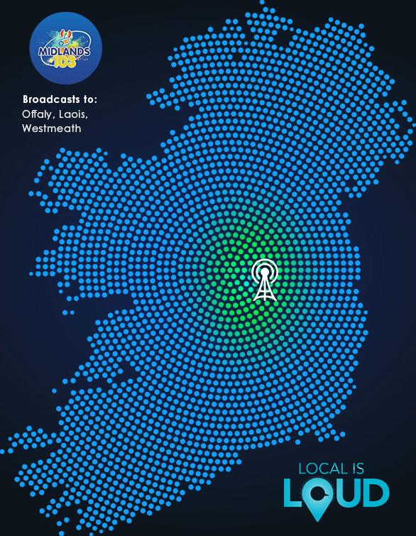 Midlands Radio IRS+ Map