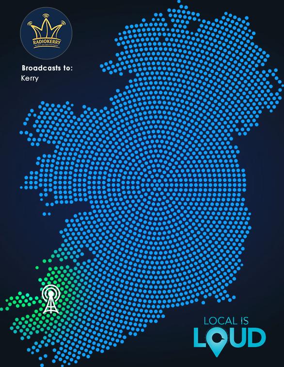 Radio Kerry IRS+ Map