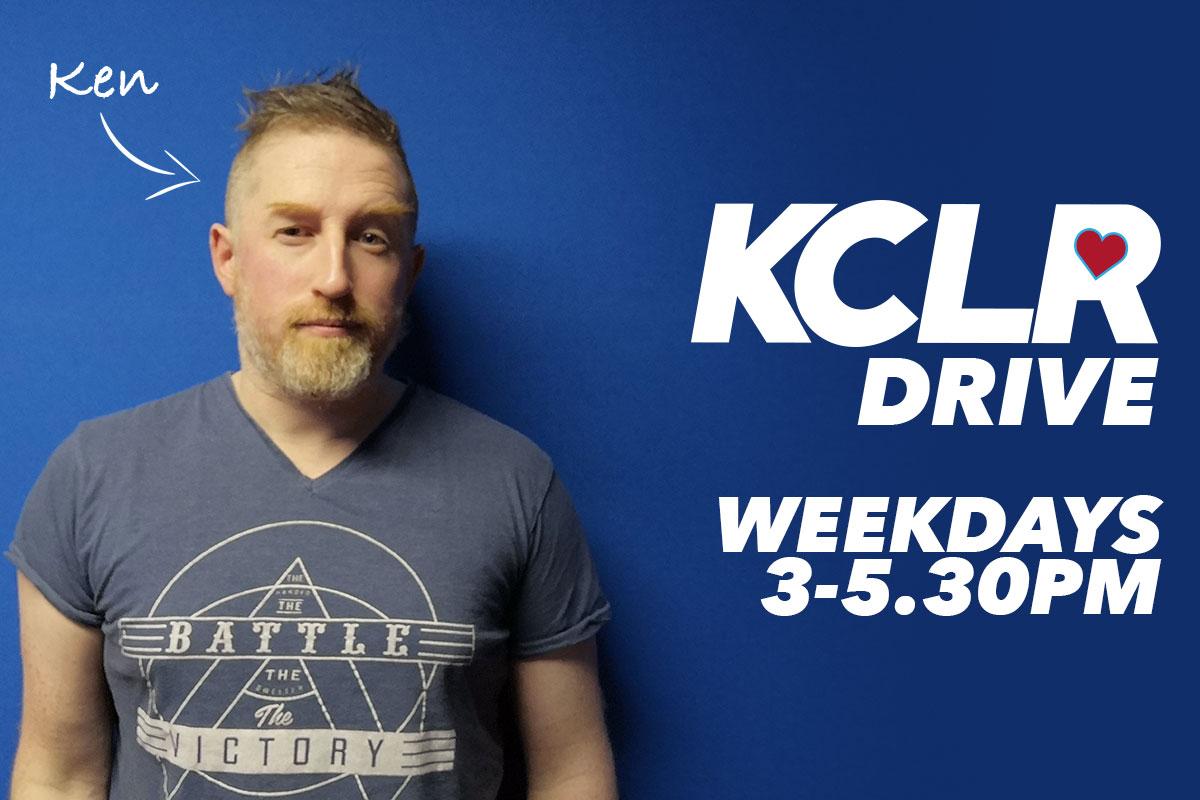 ken maguire KCLR drive show