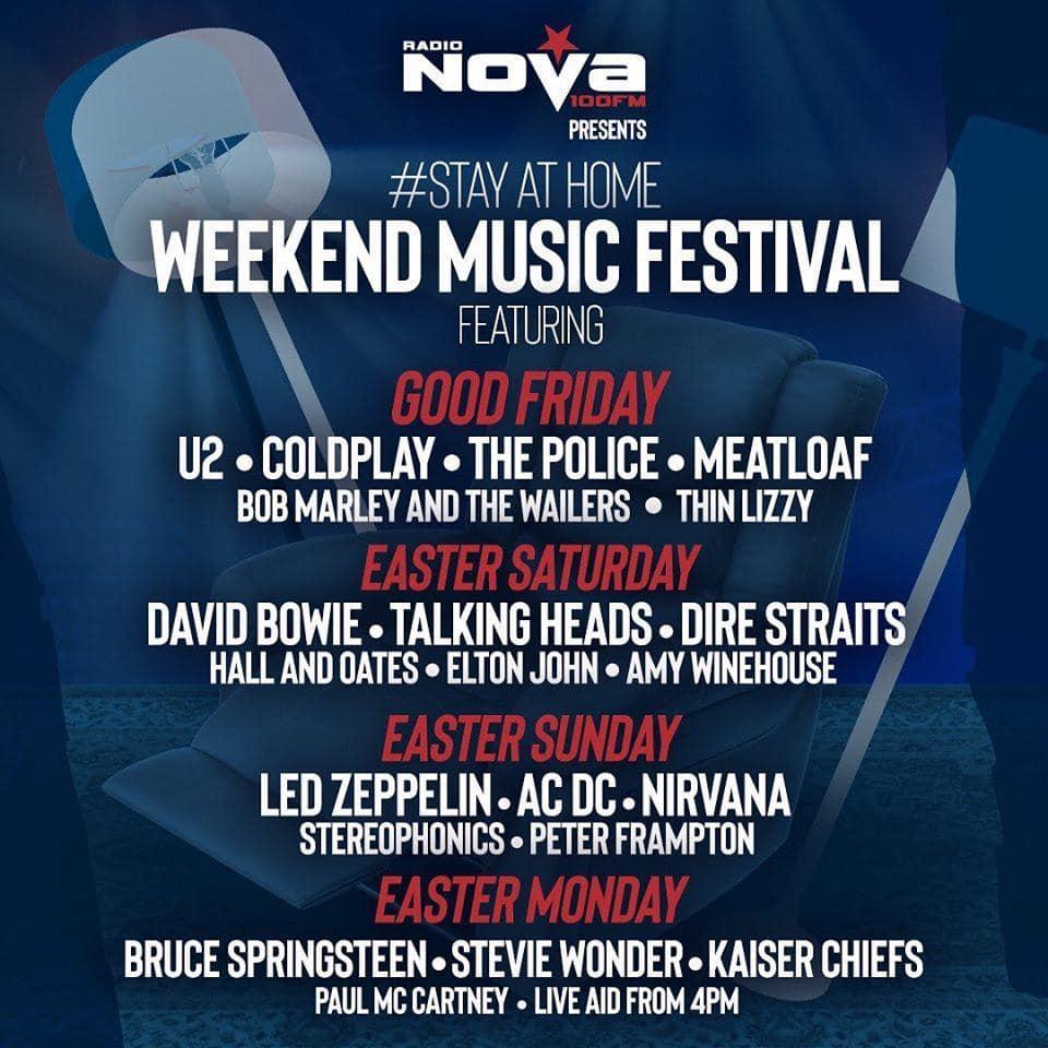 Radio Nova Stay At Home Music Festival