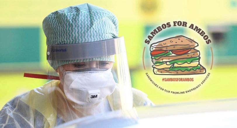 East Coast FM Sambos for Ambos campaign